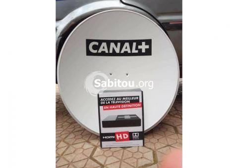 Abonnement canal + avec décodeur HD