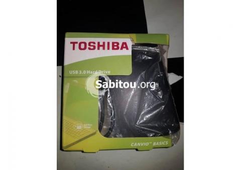 Disque dur externe Toshiba 500g