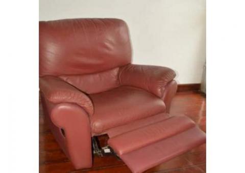 Fauteuil de relaxation en cuir