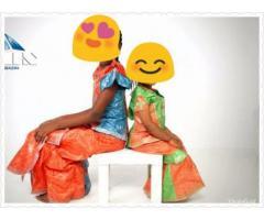 Robe bazin...ensemble bazin enfants cotonou sur yaounde - 1/1