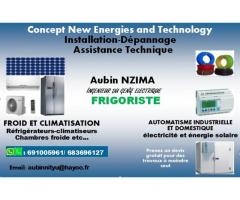 Frigoriste-électricien disponible