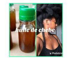 HUILE DE RECIN POUR CHUTE DE CHEVEUX