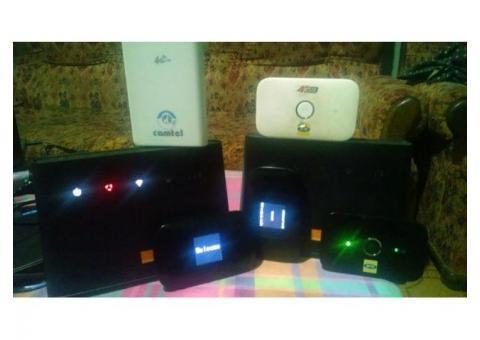 J'achète des modems wifi et Flybox fonctionnel ou en panne