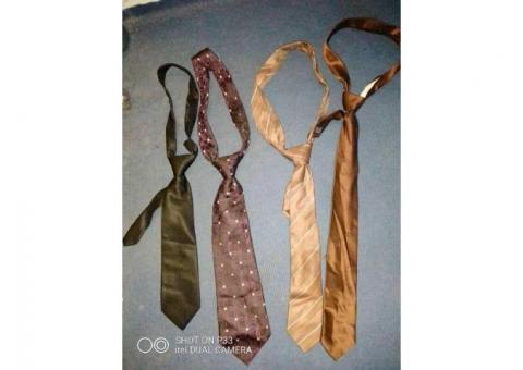 Cravates de bonnes qualités