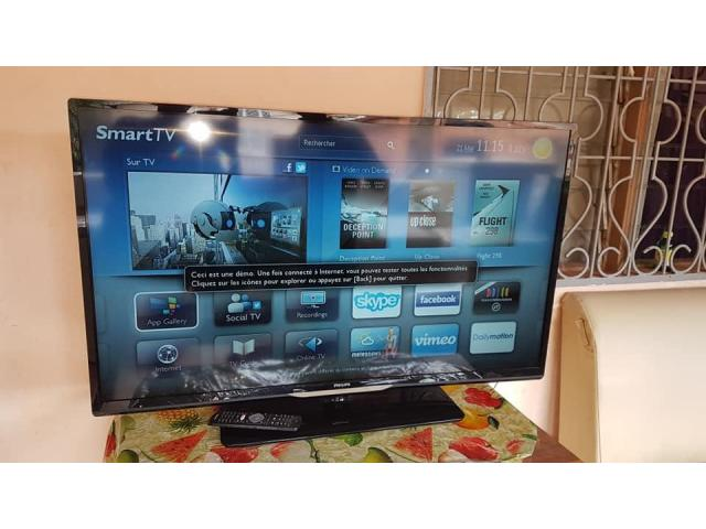 SMART TV INCURVÉ  - 10/15