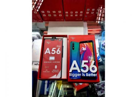 ITEL A56 Pro  32GB 2GB RAM , 4G - NEUF SCELLÉ