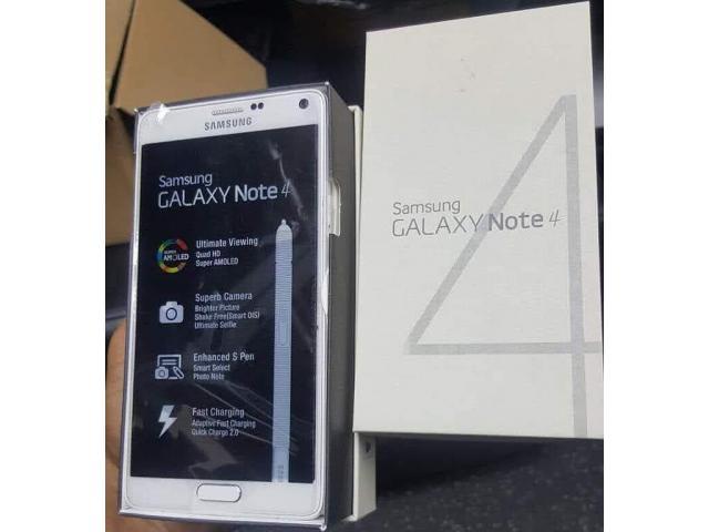 Samsung Galaxy Note 4 | 01 SIM 4G - 32Go 3Go RAM -3220mAh - Neuf Complet  - 1/1
