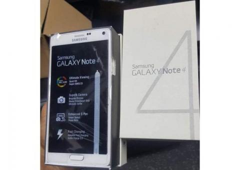 Samsung Galaxy Note 4 | 01 SIM 4G - 32Go 3Go RAM -3220mAh - Neuf Complet