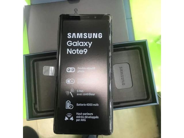 Samsung Galaxy Note 9 |01 SIM 4G - 128Go 6Go RAM - Neuf Complet - 1/2