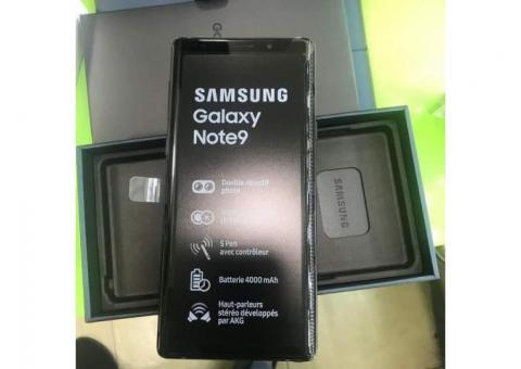Samsung Galaxy Note 9 |01 SIM 4G - 128Go 6Go RAM - Neuf Complet