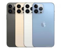 iPhone 13 Pro Max  | 01 SIM 5G-128Go  8Go RAM - []mAh - Neuf Scellé - 24 Mois Garantie ✅