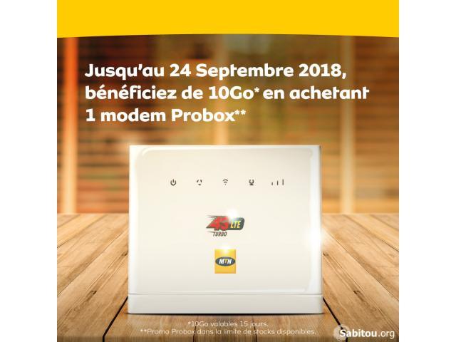 PROMOTION MODEM MTN PROBOX - 1/2
