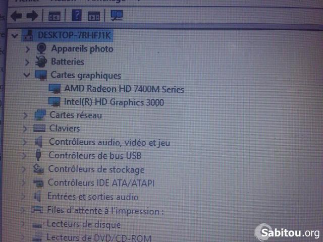 HP PAVILLON G4 GAMER CORE I5, 1024Mo dédiée - 3/4